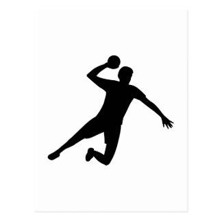 Joueur de handball cartes postales