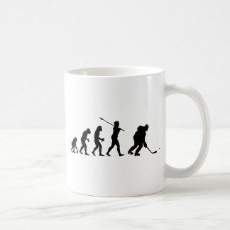 Joueur de hockey de glace mug