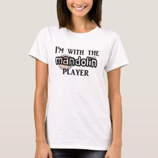 Joueur de mandoline t-shirt