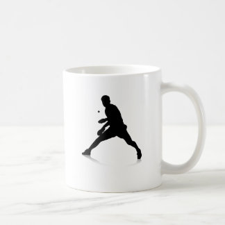 Joueur de ping-pong mug