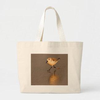 Joueur de pipeau de sable sacs en toile