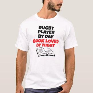 Joueur de rugby d'amoureux des livres t-shirt