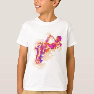 Joueur de saxo pour le jour de saxophone t-shirt