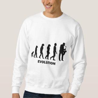 joueur de saxophone drôle sweatshirt