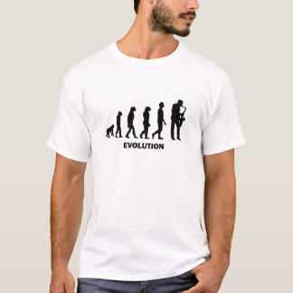 joueur de saxophone drôle t-shirt