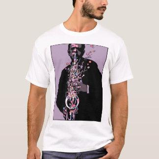 joueur de saxophone t-shirt