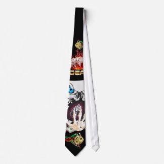 Joueur de Vegas tous les commentaires d'artiste de Cravates Customisées