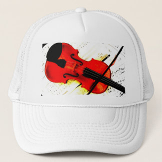 Joueur de violon ou casquette de bande