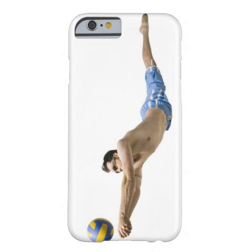 Joueur de volleyball de plongée coque iPhone 6 barely there