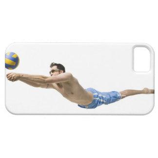 Joueur de volleyball de plongée coques iPhone 5 Case-Mate