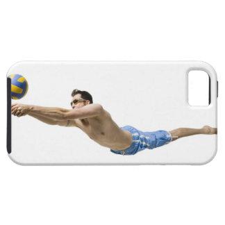 Joueur de volleyball de plongée iPhone 5 case