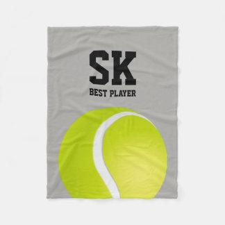 Joueur personnalisé de tennis de | meilleur couverture polaire