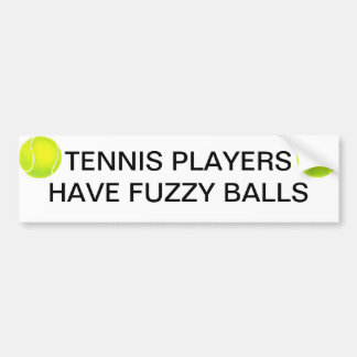 Joueurs de tennis autocollant pour voiture