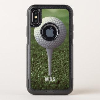 Jouez au golf piquer outre du cas de l'iPhone X de