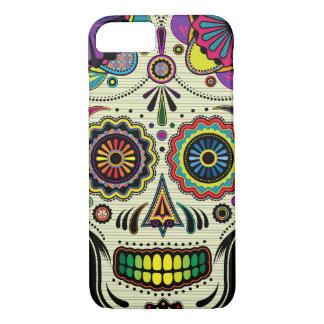 Jour aztèque d'art de crâne de sucre des morts coque iPhone 7