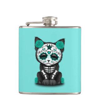 Jour bleu du chaton mort flasques