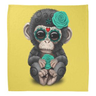 Jour bleu du chimpanzé mort bandanas