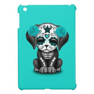 Jour bleu du chiot mort étuis iPad mini