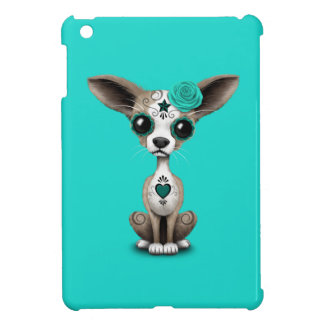 Jour bleu du chiwawa mort étuis iPad mini