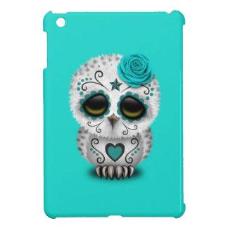 Jour bleu du hibou mort de bébé coques pour iPad mini