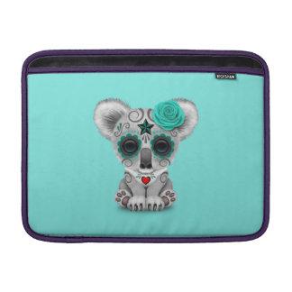Jour bleu du koala mort de bébé poches macbook