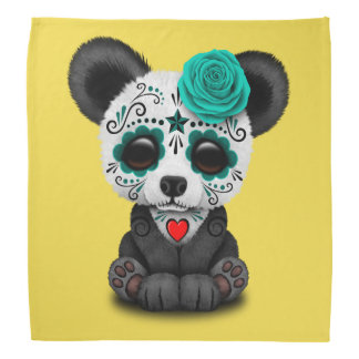Jour bleu du panda mort CUB Bandana