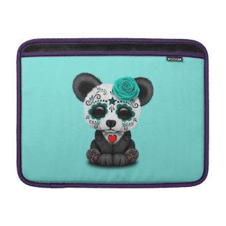 Jour bleu du panda mort CUB Poches Macbook