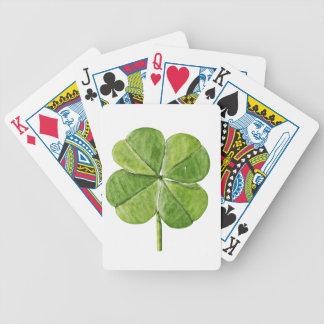 Jour chanceux vert de Patrick de saint de trèfle Cartes À Jouer