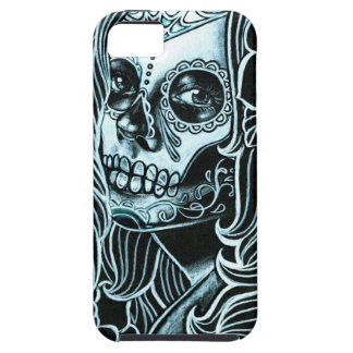 Jour de Bella Morte de la fille morte de crâne de Coque Case-Mate iPhone 5