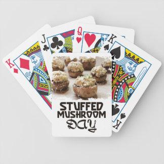 Jour de champignon bourré - jour d'appréciation jeux de cartes