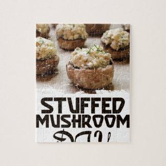 Jour de champignon bourré - jour d'appréciation puzzle
