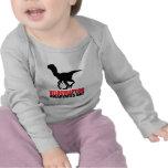 Jour de conscience de Velociraptor T-shirts