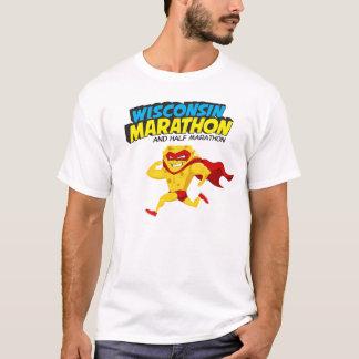 Jour de course de marathon du Wisconsin T-shirt