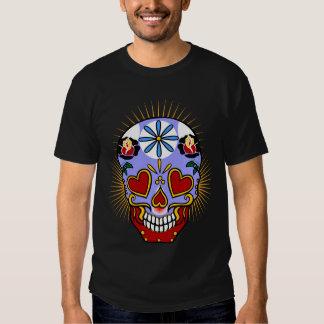 Jour de crâne de sucre des morts t-shirt