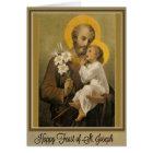Jour de fête St Joseph carte du 19 mars