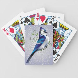 Jour de geai bleu cartes à jouer