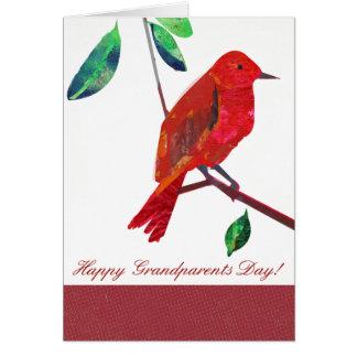 Jour de grands-parents carte de vœux