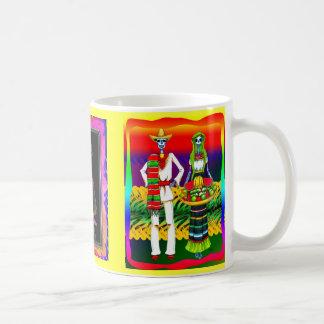 Jour de la célébration morte mug blanc
