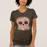 Jour de la chemise morte de crâne de sucre t-shirts