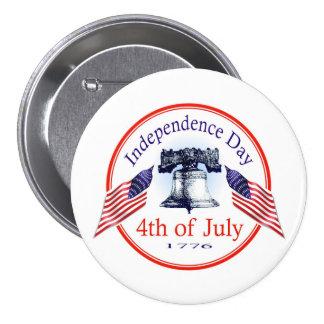 Jour de la Déclaration d'Indépendance Badge