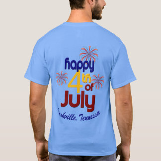 Jour de la Déclaration d'Indépendance de Nashville T-shirt