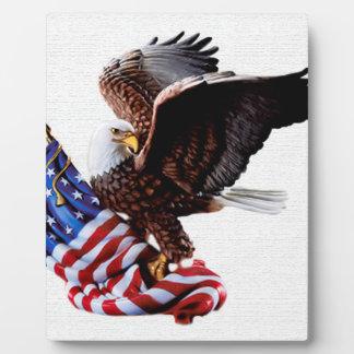Jour de la Déclaration d'Indépendance Etats-Unis Impression Sur Plaque