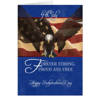 Jour de la Déclaration d'Indépendance, le Carte De Vœux