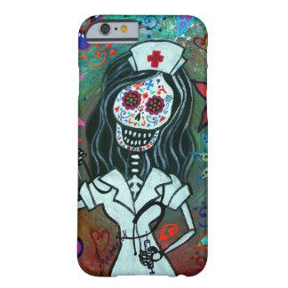 Jour de la peinture morte d'infirmière coque iPhone 6 barely there