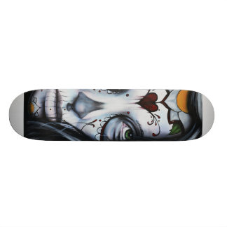 Jour de la plate-forme morte de patin skateboards customisés