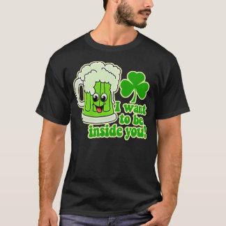 Jour de la Saint Patrick drôle T-shirt