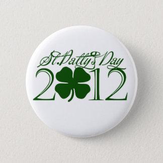 Jour de la St Patrick Badges