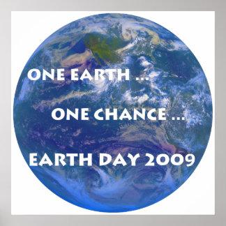 Jour de la terre 2009 posters