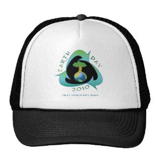 Jour de la terre 2010 casquettes