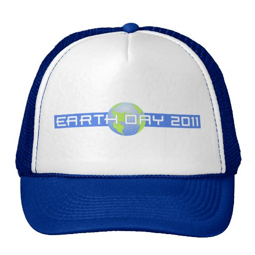 Jour de la terre 2011 casquettes de camionneur
